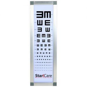 Echelle Optométrique Lumineuse