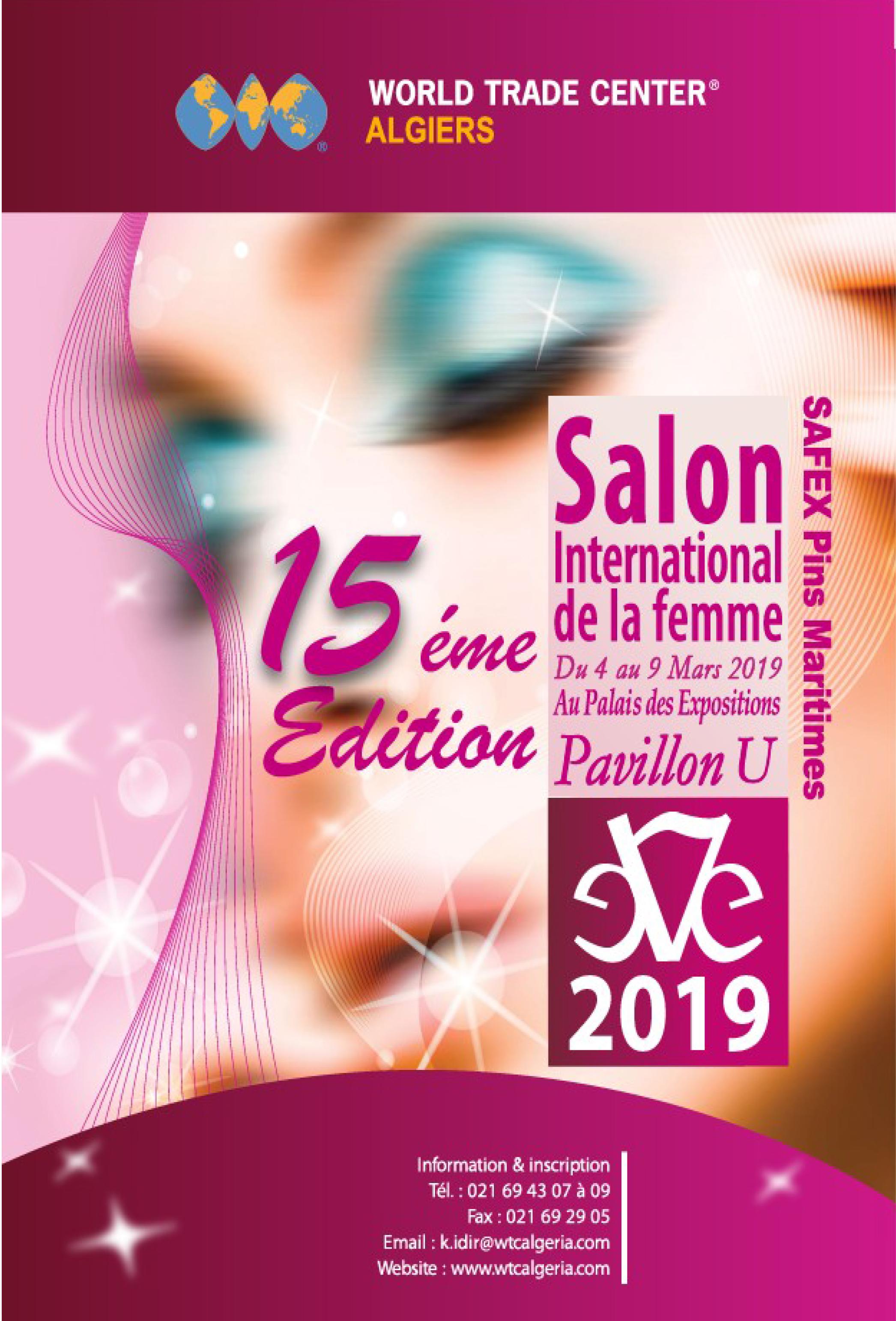 """Salon International de la Femme """"EVE"""" 2019"""