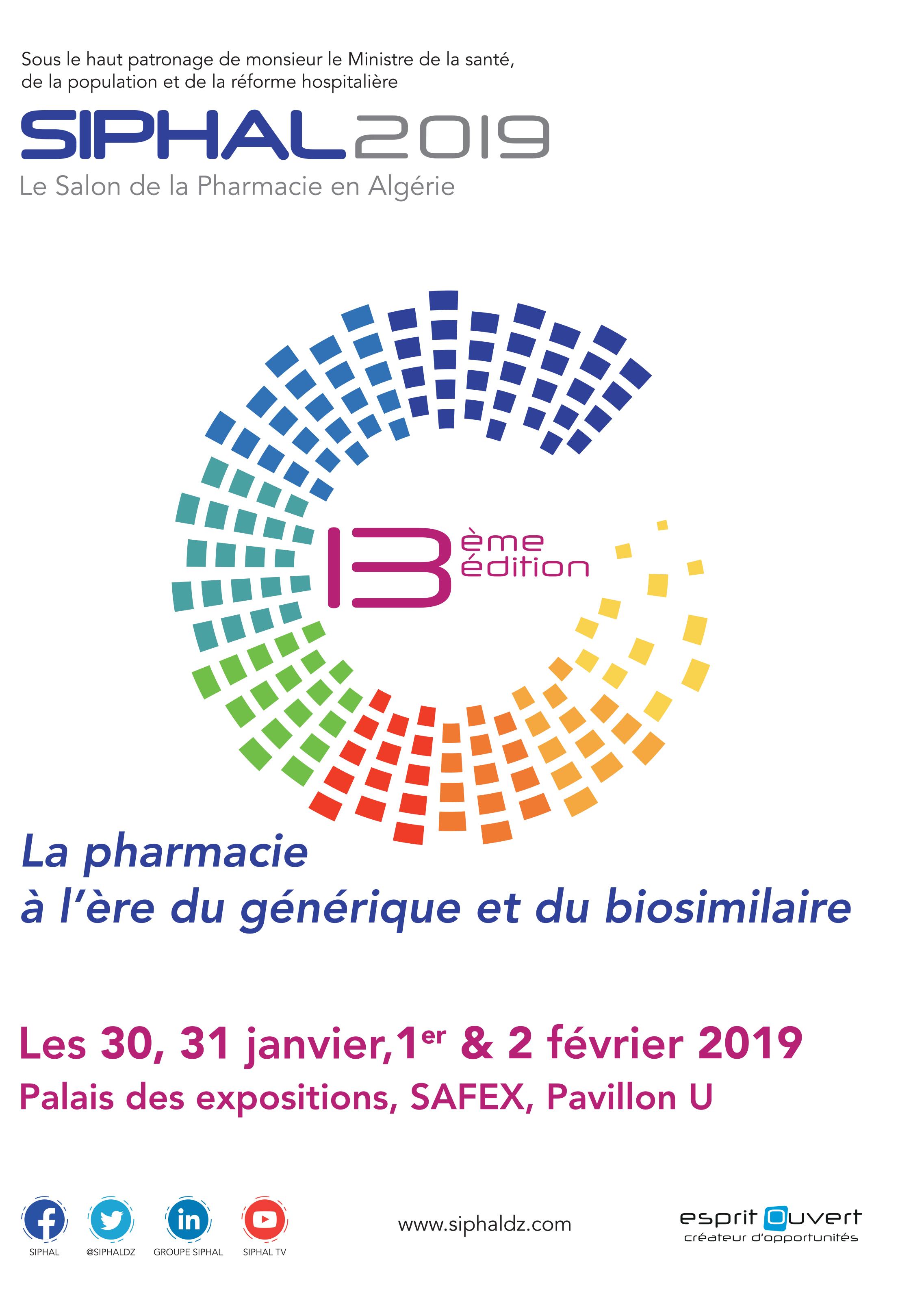 SIPHAL le salon de la pharmacie 2019